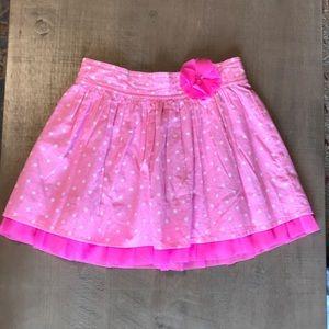 Cherokee polka dot skirt - girls 7/8 - EUC